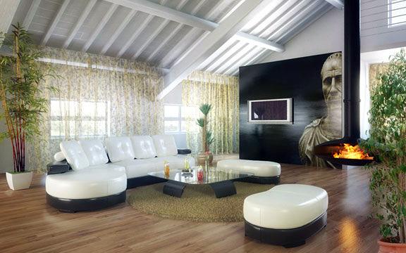Foto proyecto reforma y propuesta de mobiliario en for Abuhardillado