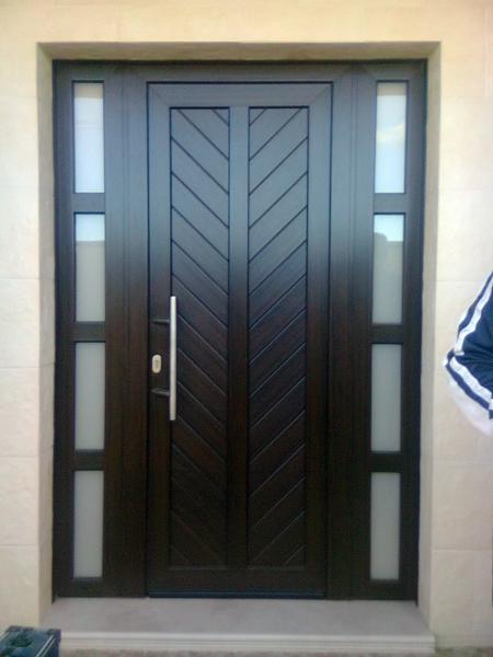 Foto Puerta De Enrada Con Fijo Laterales De Francisco