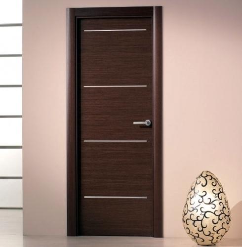 Foto puertas en wengue de fusteria el cargol s l 206857 - Puertas de madera modernas para interiores ...