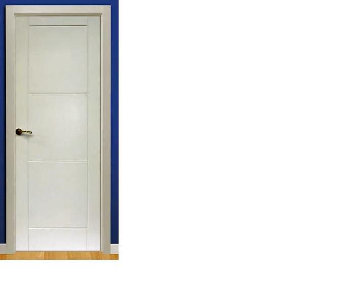 Foto puertas fresadas en lacado blanco de checa - Precios de puertas lacadas en blanco ...