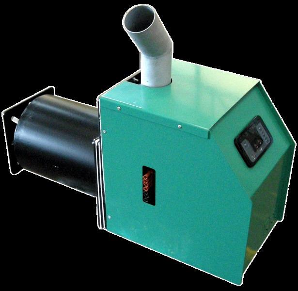 foto quemador de biomasa para caldera de gasoil de