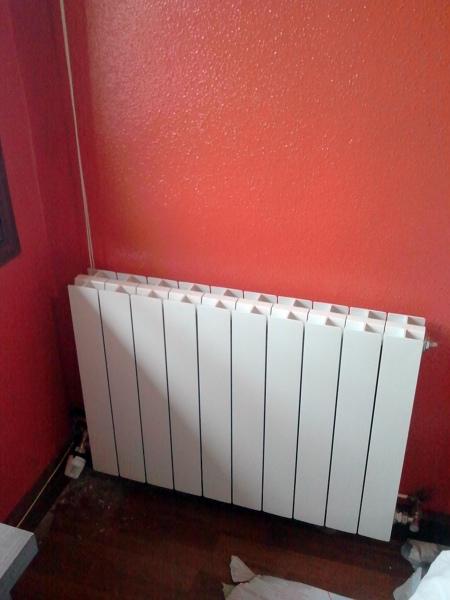 Foto radiador de aluminio inyectado fondital blitz de - Modelos de radiadores ...