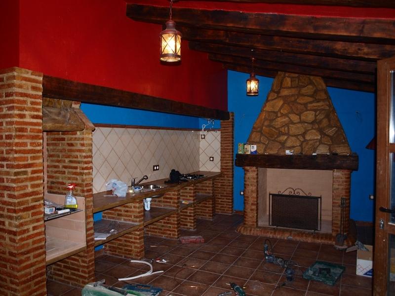 Foto reforma cocina campera ciudad real de servicios - Muebles cocina ciudad real ...