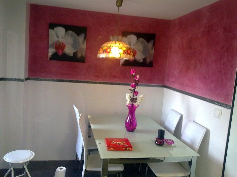 Foto reforma cocina en fuenlabrada combinada pintura y - Cocinas pintadas fotos ...