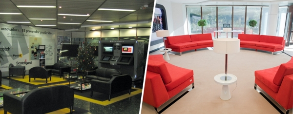 Foto reforma de oficinas de libelulab arquitectura for Reformas de oficinas