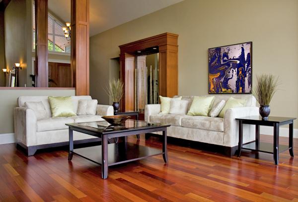 Foto Reforma Salon Parquet Y Pintura De Decoreformas 654791 - Salones-con-parquet