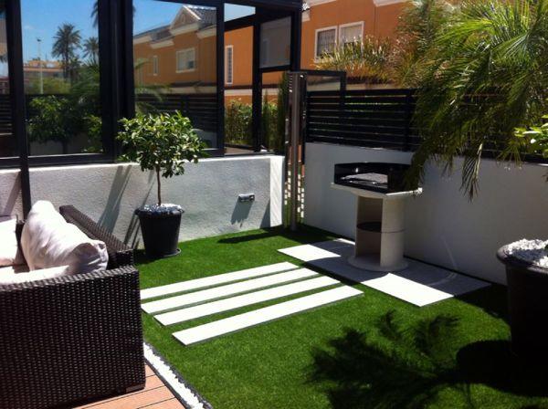 Foto reforma terraza finalizada2 barbacoa de - Barbacoas para terrazas ...