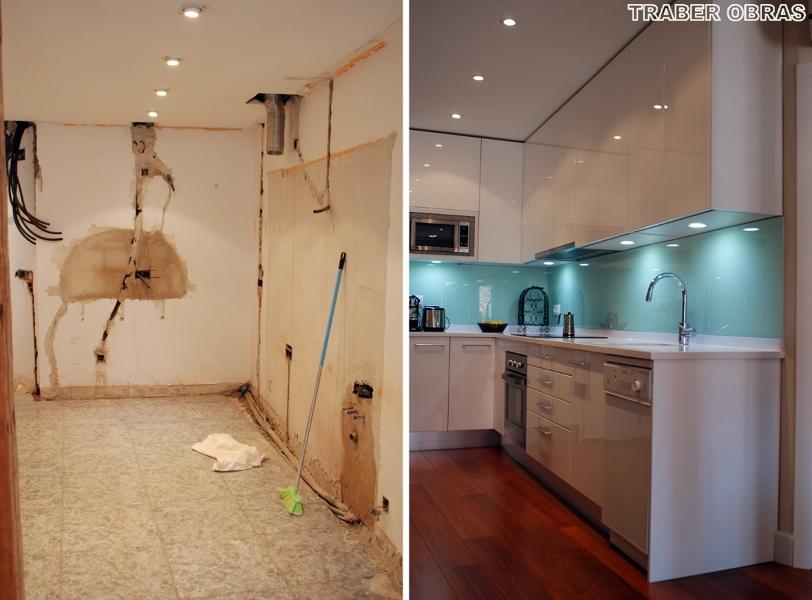 Foto a o 2010 reforma integral de vivienda por traber - Pintar baldosas de bano ...