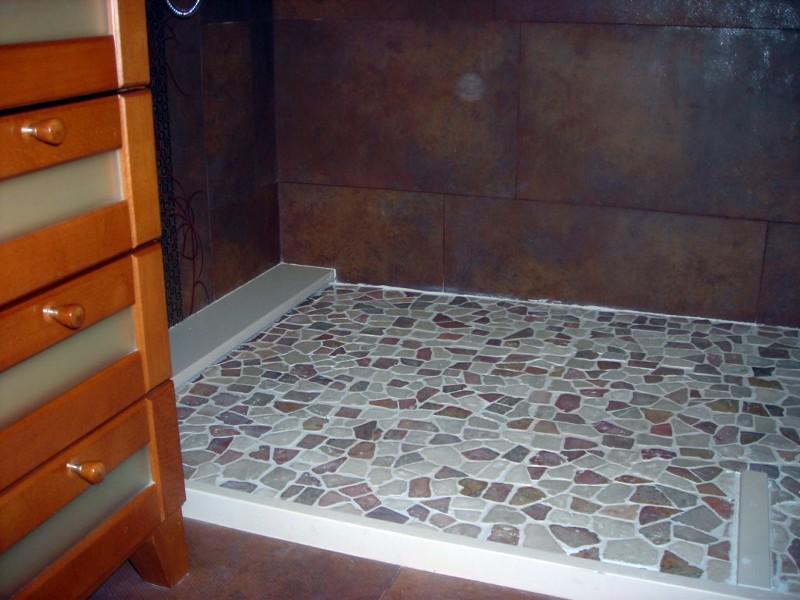 Foto reparaci n de filtraciones de agua en plato de ducha - Platos de ducha de obra fotos ...