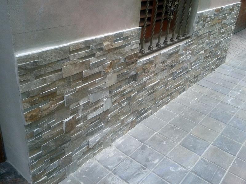 Foto revestimiento fachada con piedra de cuarzo valencia - Revestimientos de fachadas precios ...