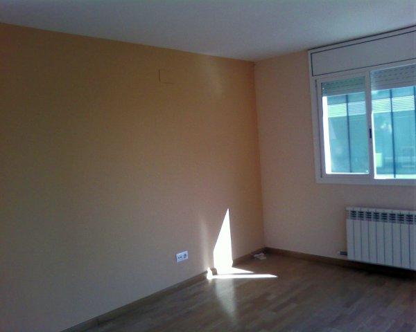 Foto salon comedor pintado en beige de pintura y - Decoracion de salones pintura ...