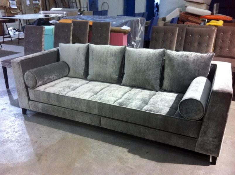Foto sofa motas de tapiceria garnacho 379589 habitissimo - Tapiceros en salamanca ...