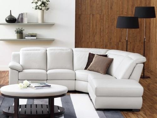 Foto sof rinconera tapizado en piel de tapizados segui vidal 266166 habitissimo - Sofa rinconera moderno ...