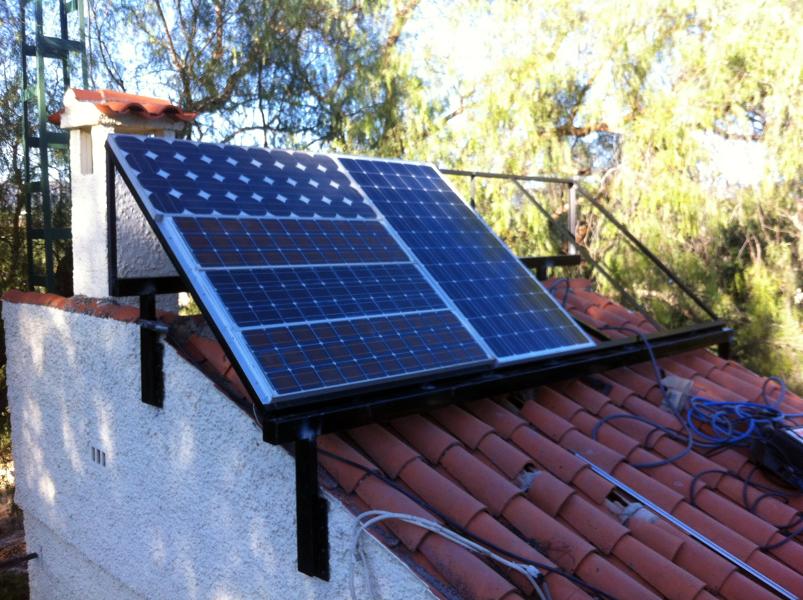Foto soportes placas solares de sez s l 339179 for Placas solares barcelona
