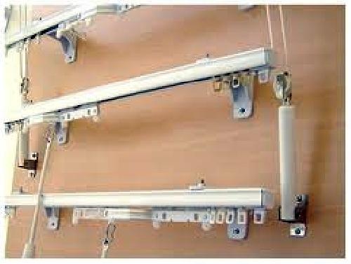 Foto suministro e instalaci n de rieles y mecanismos de - Rieles de cortina ...