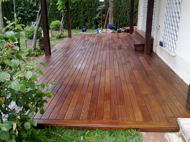 Foto tarima de ipe para exterior de adg suelos de madera - Precio de tarima ...