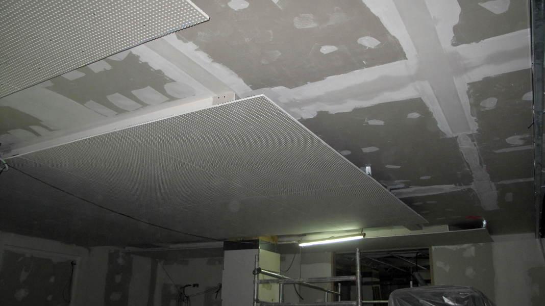foto techo de terminacion sobre techo de insonorizaci n