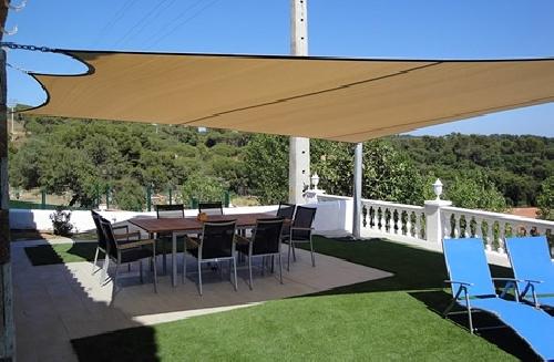 Foto toldo vela de malaga innova 275337 habitissimo - Tipos de toldos para patios ...