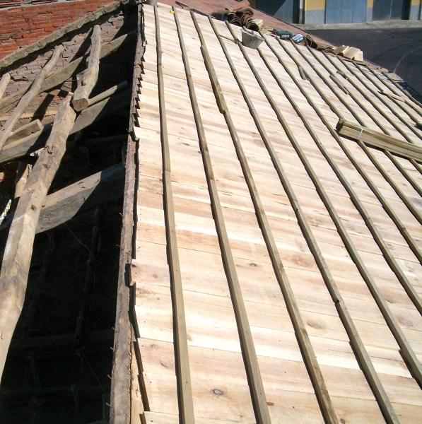una solucion para reparar,no muy costosamente tejado viejo