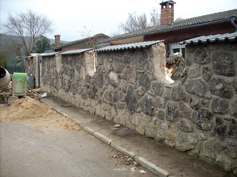 Foto valla piedra de holivera 154086 habitissimo - Vallas de piedra ...