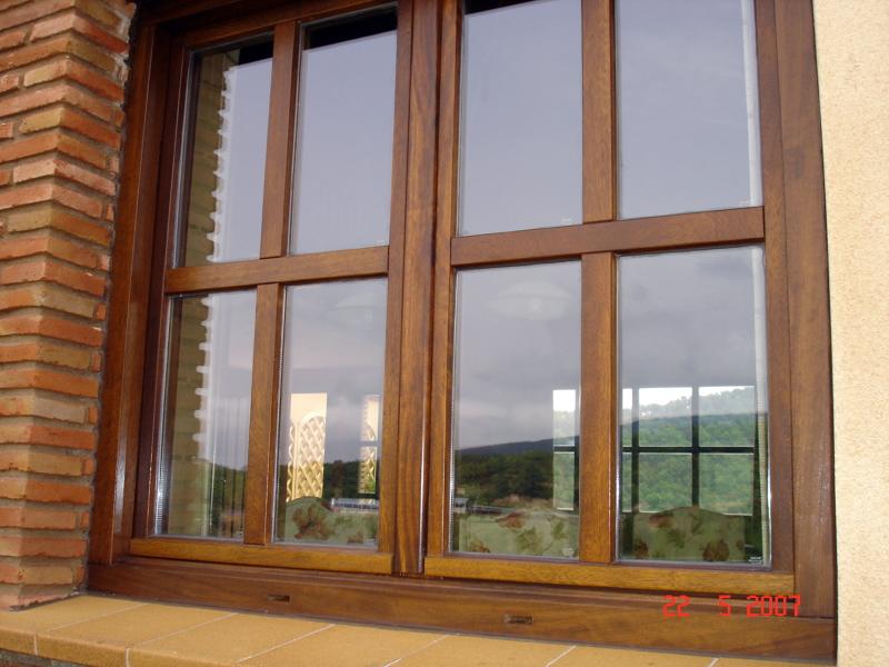 Foto ventana de madera de carpinter a ngel ortega s l - Hacer una ventana de madera ...