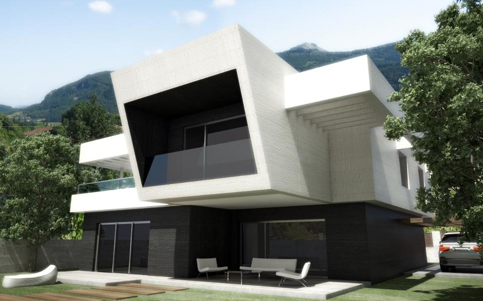 Foto vivienda en aranjuez de santiago mart nez arquitecto for Viviendas unifamiliares modernas