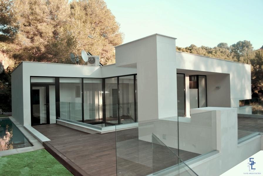Foto vivienda unifamiliar planta cubierta de sans arquitectes 275931 habitissimo - Sans arquitectes ...