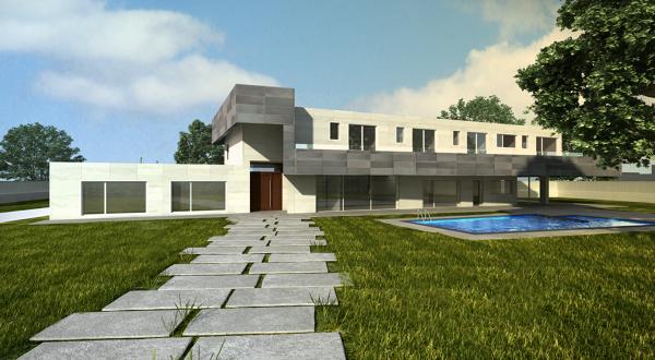 Foto vivienda unifamiliar y piscina en villafranca del for Piscina villafranca