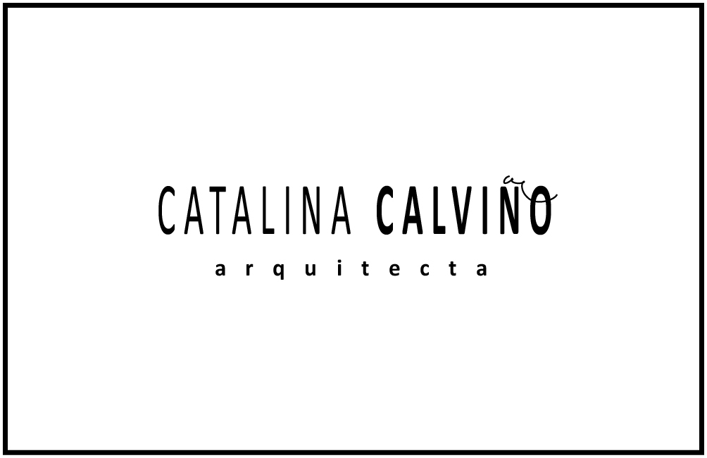 CATALINA CALVIÑO arquitecta