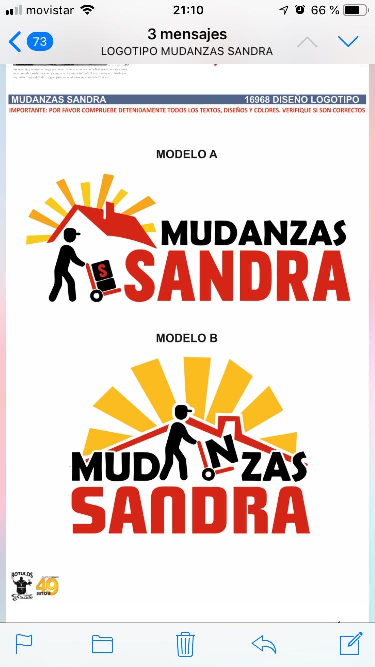 Mudanza Sandra