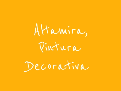 Altamira, Pintura decorativa
