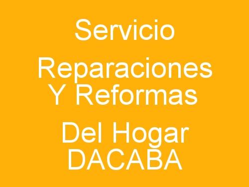Servicio Reparaciones y Reformas Del Hogar Dacaba