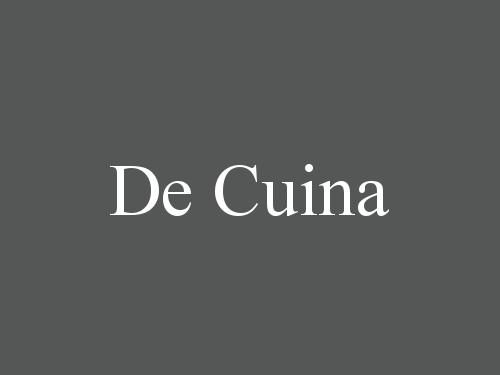 De Cuina