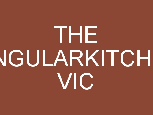 The Singular Kitchen Vic