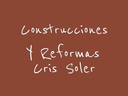 Construcciones y Reformas Cris Soler