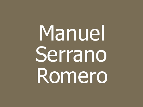 Manuel Serrano Romero