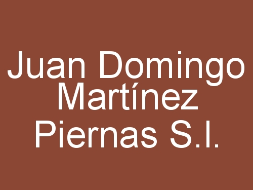 Juan Domingo Martínez Piernas S.L.