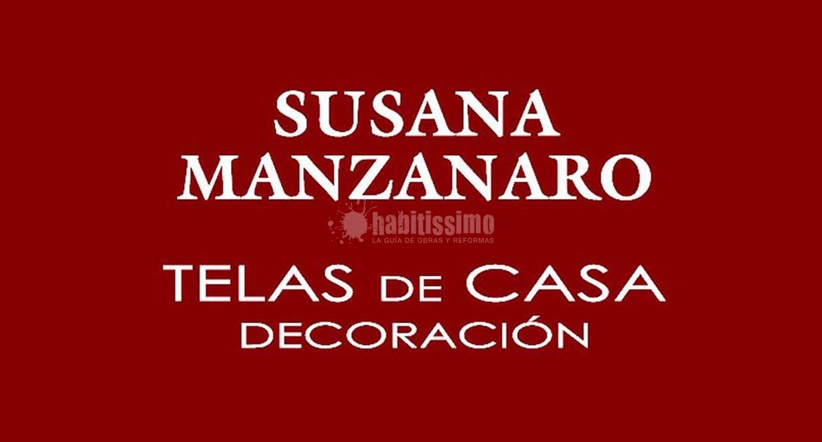 Susana Manzanaro Telas Decoración