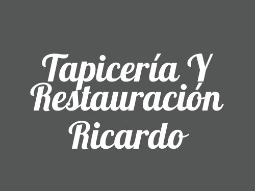 Tapicería y Restauración Ricardo
