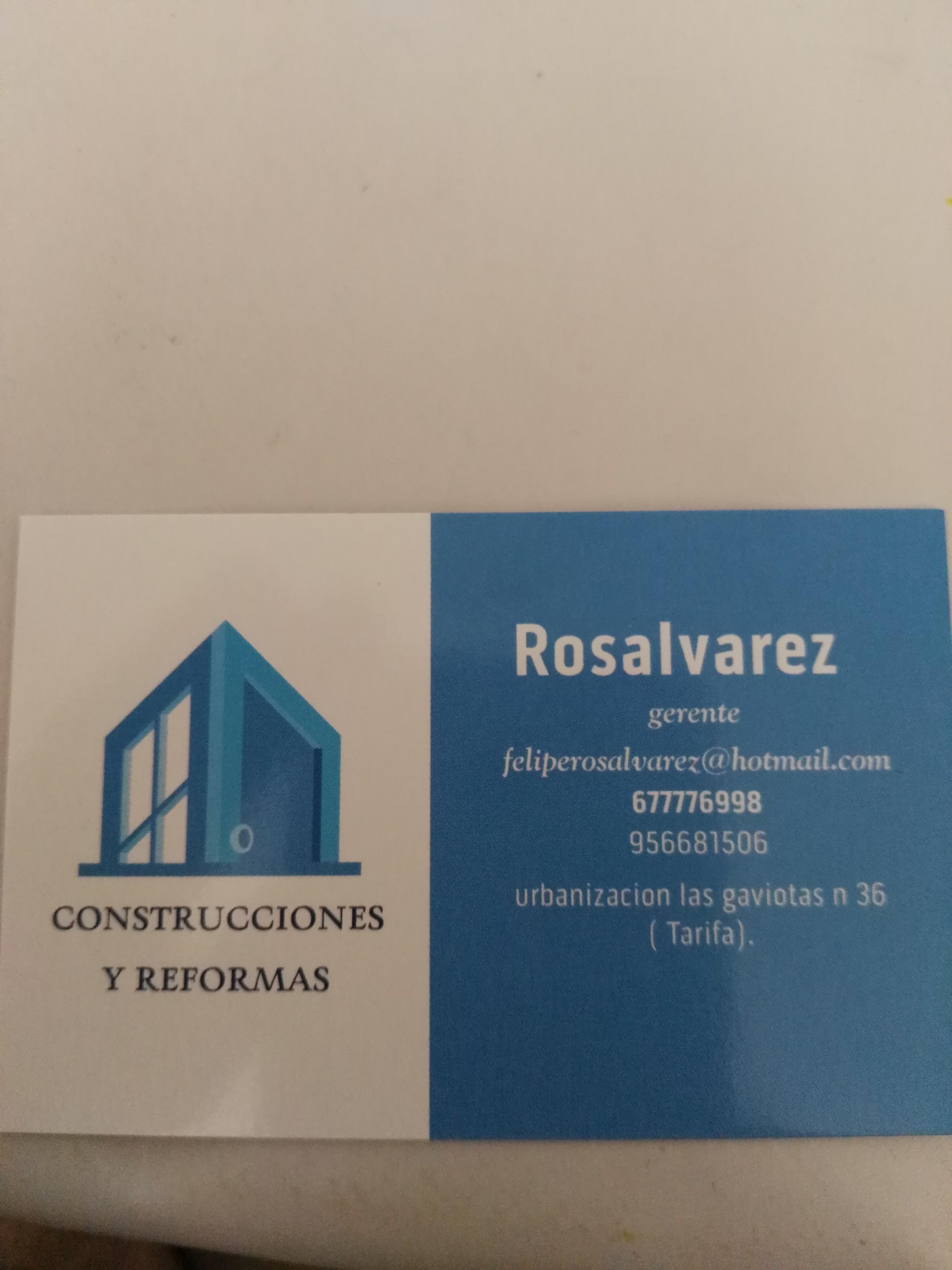 Construcciones Y Reformas Rosalvarez