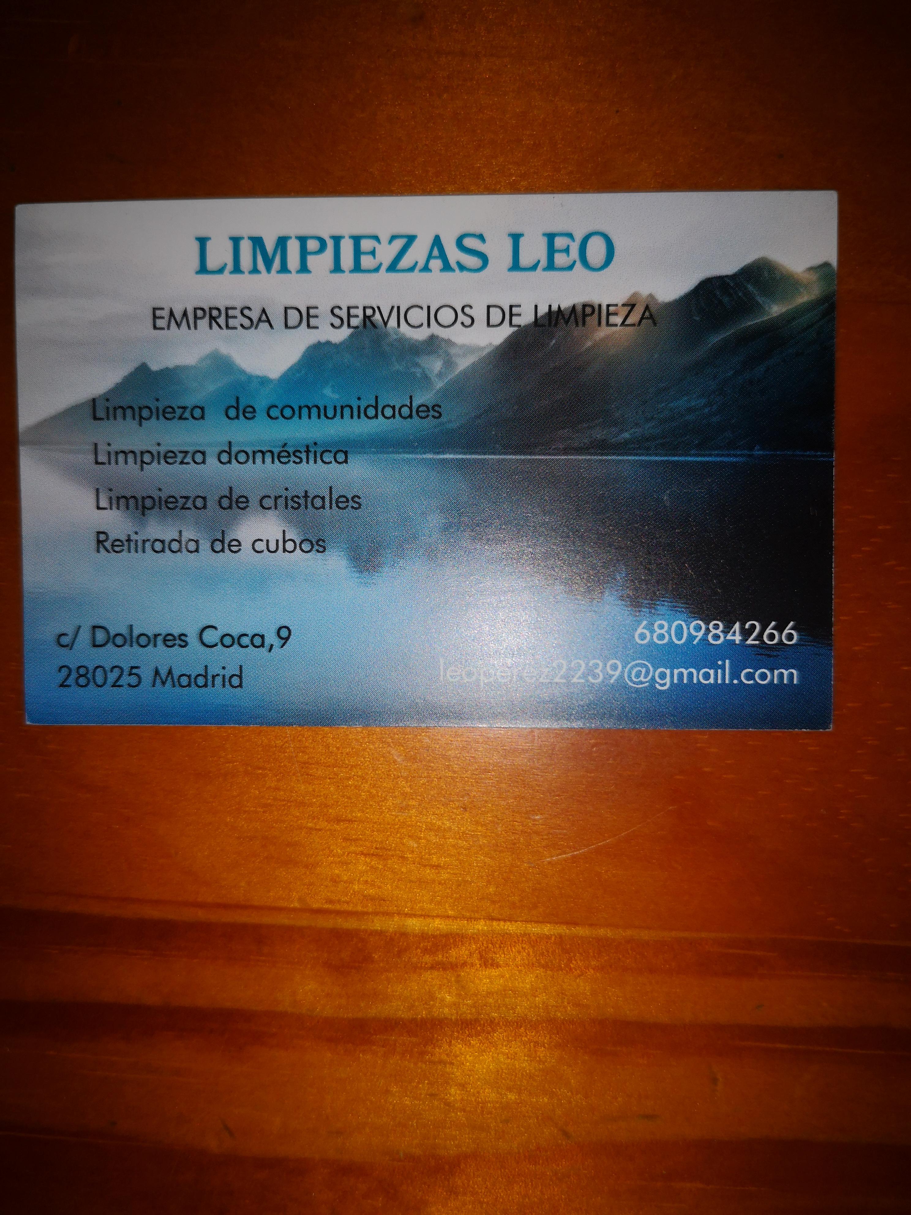 Limpieza Leo
