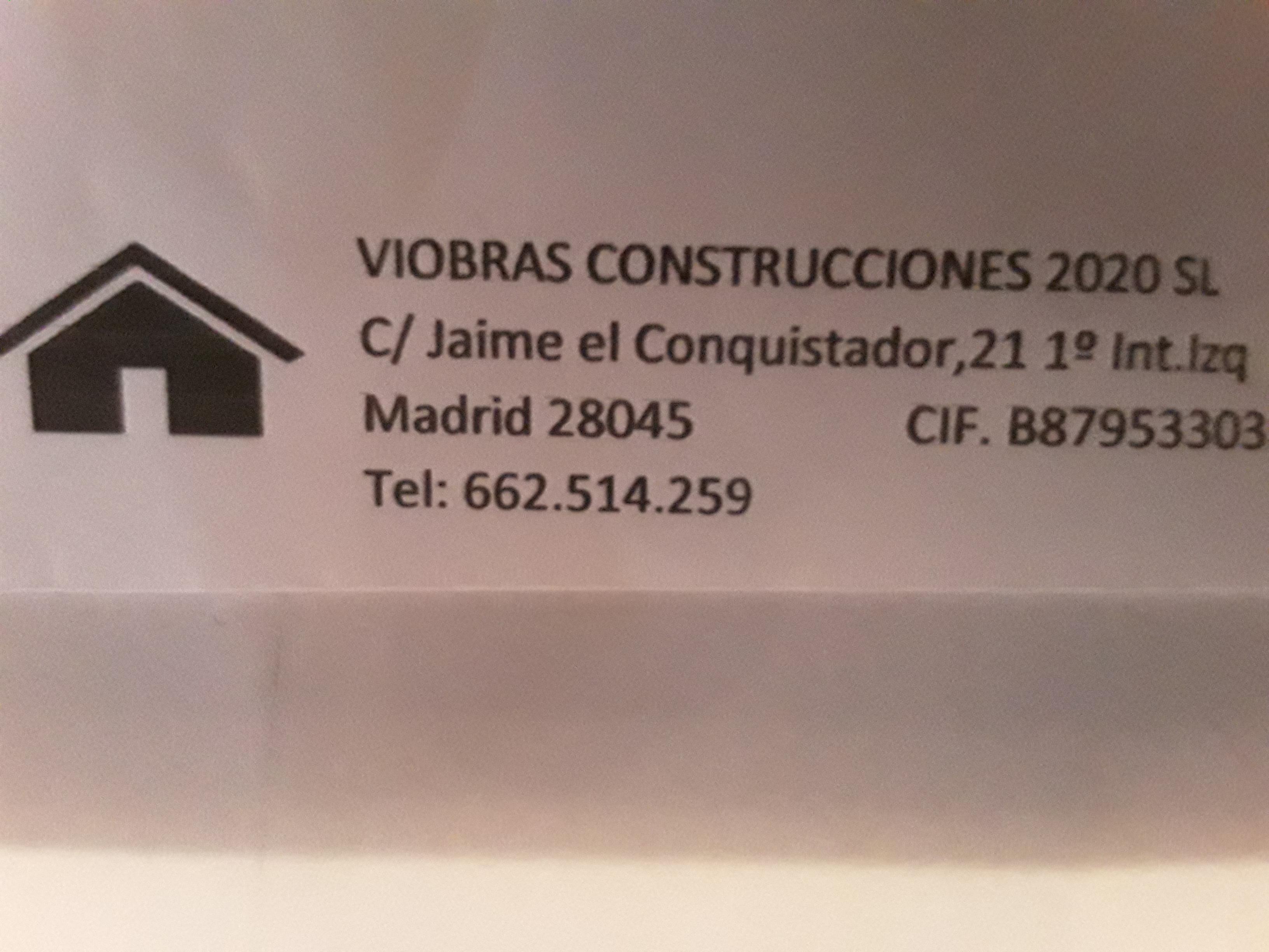 Viobras contrucciones 2020 s.l