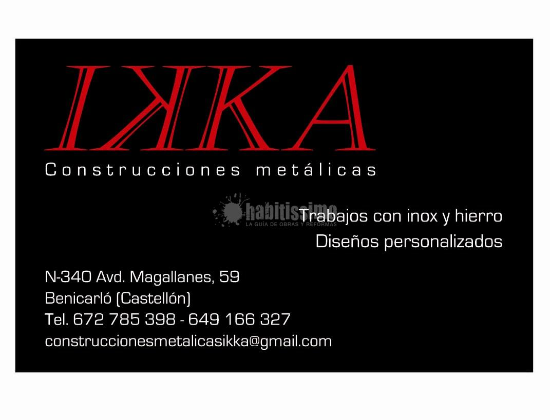 Construcciones Metálicas Ikka