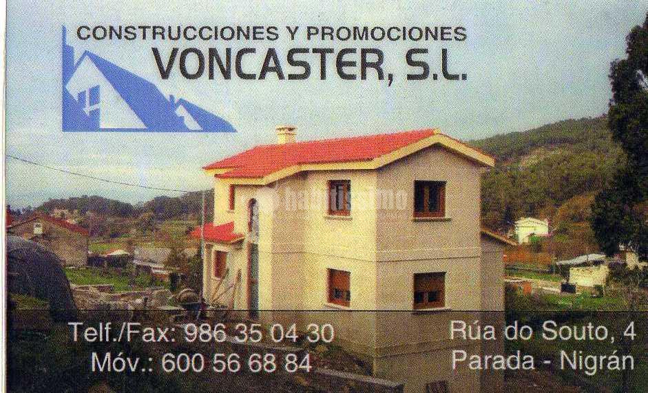 Construciones , Promociones y Excavaciones Voncaster S.L