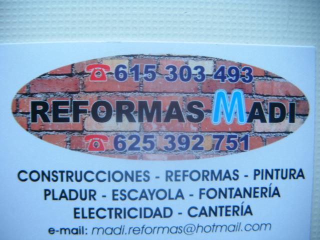 Reformas Madi - Manuel Díaz Graña