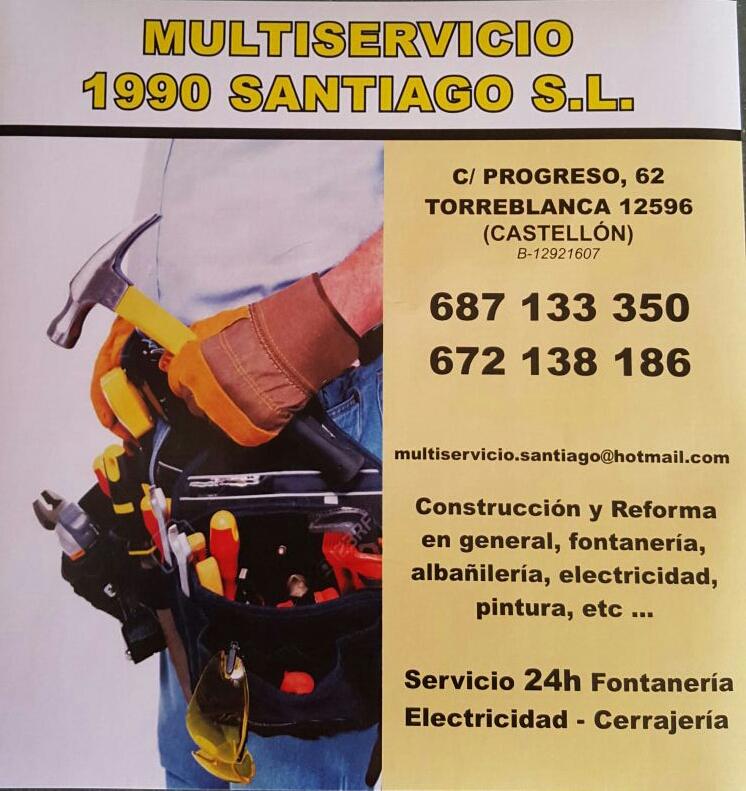 Multiservicio1990santiaago Sl.