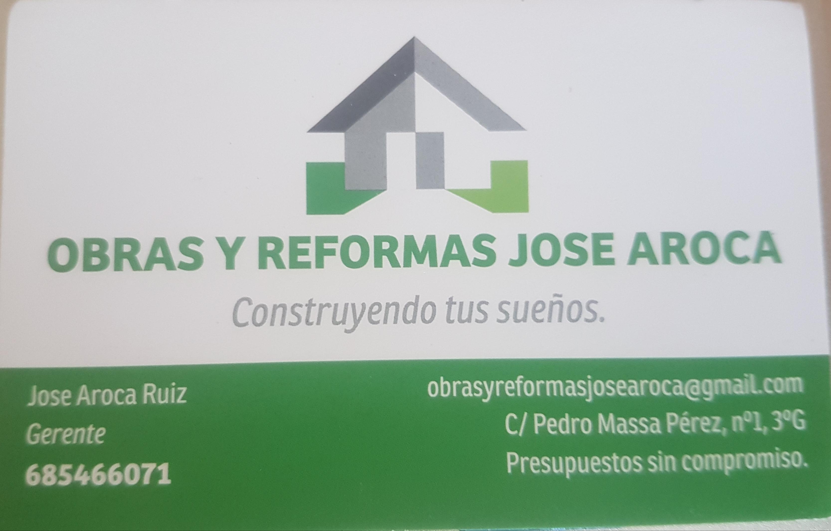 Obras y Reformas Jose Aroca