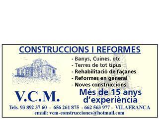 Construcciones y Reformas Vcm