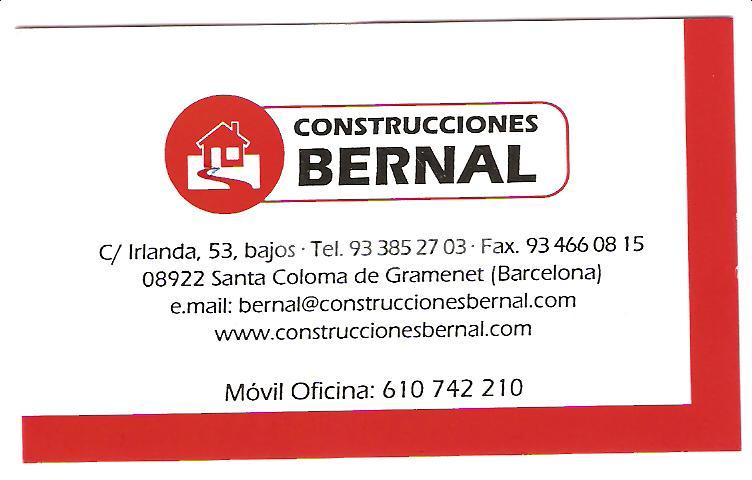 Construcciones Bernal - Santa Coloma de Gramanet