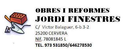 Obres i Reformes J.Finestres